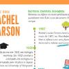Veja o infográfico que preparamos para você sobre Rachel Carson, ecologista e autora do livro Primavera Silenciosa