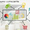 [Infográfico] 8 dicas sobre consumo consciente para aplicar no dia a dia